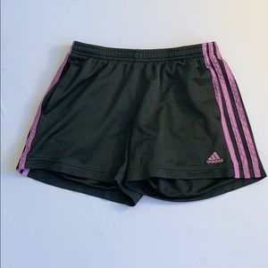 Small Purple Adidas Shorts
